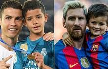 Éo le chuyện con nhà cầu thủ: Con trai Messi là fan cứng của Ronaldo, quý tử nhà Ronaldo lại mê tít Messi