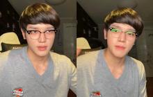 """Taeyong (NCT) gây sốt MXH với kiểu tóc ngố tàu nhìn hệt thầy giáo, đánh lừa netizen không khác gì """"Minh Kon Tum"""""""