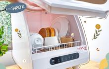 Tổng hợp máy rửa bát mini giá phải chăng giúp chị em tiết kiệm thời gian dọn rửa