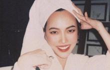 Khánh Vân chụp Diệu Nhi trong phòng tắm nhưng son đỏ chót, lông mi chuốt sắc lẹm!
