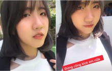 Xuất hiện TikTok được cho là của cô gái có 12 mối tình đang hot, van xin mọi người đừng công kích mình nữa