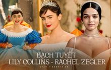 """Tranh cãi so visual đối lập của """"Bạch Tuyết"""" cũ và mới: Lily Collins mỹ lệ tựa thần tiên, Rachel bốc lửa hết cỡ nhưng đâu đến nỗi mà bị chê?"""