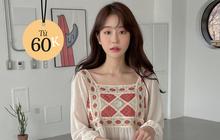 Bên Hàn rộ mốt đồ đan móc, gợi ý cho các nàng loạt áo chuẩn trend siêu xinh mà giá chỉ từ 60k