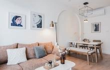 Cặp vợ chồng thiết kế căn hộ xinh chuẩn Hàn với 200 triệu, diện tích 74m2 tha hồ không gian cho con chơi đùa