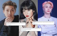 BTS bị đặt điều khiếm nhã bởi một bộ phận được cho là fan BLACKPINK, netizen phẫn nộ đẩy hashtag #BLACKPINKdisband náo loạn Twitter