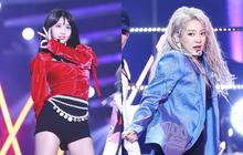 """""""Cỗ máy nhảy"""" TWICE muốn hợp tác cùng """"DJ miền Tây"""" Hyoyeon (SNSD), fan réo gọi 2 ông lớn SM và JYP nhanh cho collab giùm!"""