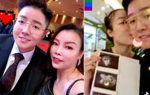 """""""Nam thần chuyển giới"""" Tú Lơ Khơ hạnh phúc khoe vợ đại gia hơn 21 tuổi có bầu"""