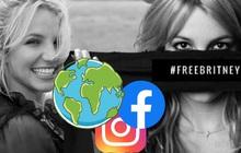 Britney Spears lọt top tìm kiếm trên toàn cầu, hashtag #FreeBritney đánh chiếm toàn bộ mọi nền tảng MXH với hàng triệu người đồng cảm