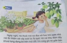 """Bài tập Tiếng Việt lớp 1 xuất hiện từ ngữ khó dịch, đọc xong đến người lớn cũng """"câm lặng"""" không làm được"""