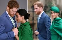 """Vợ chồng hoàng tử Harry - Meghan tái hiện triệt để hành trình """"chạy trốn Hoàng gia"""" trong phim mới, tạo hình giống hệt """"như 2 giọt nước"""""""