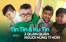 """2 """"cậu bé bánh bao"""" Ku Tin và Tin Tin: Kiếm tiền khủng từ nhỏ, ít nhận show để tập trung học"""