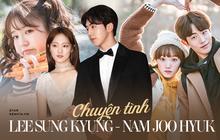 """Lee Sung Kyung - Nam Joo Hyuk: Phim giả tình thật, chung nhà YG vẫn """"toang"""" sau 4 tháng, nghi vấn """"tiểu tam"""" là nữ phụ Tiên Nữ Cử Tạ"""