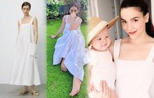 """Hà Hồ - Lệ Quyên """"đại chiến"""" váy Zara siêu dễ mặc, lại đang được sale chị em mua theo ngon ơ"""