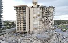 Khoảnh khắc cuối cùng trước khi tòa nhà 12 tầng đổ sập ở Miami khiến cả nước Mỹ bàng hoàng