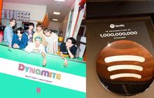 Bỏ xa BLACKPINK, Dynamite của BTS vượt mốc 1 tỷ stream trên Spotify, là nghệ sĩ Hàn đầu tiên làm được điều này!