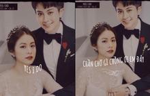 """Rầm rộ ảnh cưới của Gil Lê và Hoàng Thuỳ Linh, cô dâu chú rể nắm tay như thật làm hội """"shipper"""" dậy sóng"""