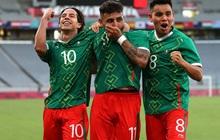 """""""Vùi dập"""" đội tuyển Pháp với tỷ số choáng váng 4-1, Mexico ra quân """"chất lừ"""" tại Olympic 2020"""