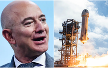 """Tỷ phú Jeff Bezos bay vào vũ trụ bằng con tàu hình """"của quý"""" khổng lồ, đây là lý do tại sao"""