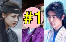 """Top 10 phim cổ trang có điểm cao nhất nửa đầu 2021: Nhiệt Ba bị cái tên """"vô danh"""" đàn áp, Tiêu Chiến mất hạng 1 vào tay """"kẻ thù"""""""
