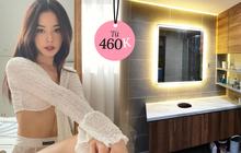 """Nhà Chi Pu có gương đèn led """"hịn"""" quá, mua về trưng phòng tắm thì sang xịn như khách sạn 5 sao"""