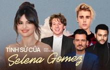 """Selena Gomez và 9 bạn trai quá hot: Justin nhập nhằng bị Charlie Puth """"dằn mặt"""", The Weeknd quá tốt nhưng không khác gì Orlando"""