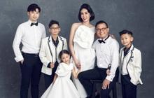 """Hà Kiều Anh kỉ niệm 14 năm ngày cưới sau ồn ào công chúa triều Nguyễn, visual cả nhà """"đỉnh chóp"""" nhưng có 1 điều gây tiếc nuối!"""