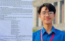 """Bài văn """"Sóng"""" của thủ khoa ĐH gây tranh cãi vì ngôn từ khoa trương, nặng nề như triết học: Netizen quá khắt khe và toxic?"""