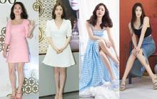 """Cuộc đại tu body của Song Hye Kyo: Xưa chân thô ngắn 1 mẩu """"dìm"""" sạch dáng, nay lột xác ngoạn mục đến mức được khen là tỷ lệ vàng"""