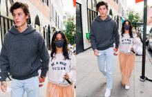 Tranh cãi Shawn và Camila dạo phố: Chàng cực soái, nàng mặc cái gì mà dìm dáng lùn tịt, luộm thuộm như đi chợ thế này?