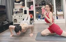Vợ chồng Minh Nhựa tiết lộ loạt hình ảnh chưa từng thấy trong những ngày giãn cách ở nhà