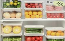 Tuyển tập hộp đựng thực phẩm tiện - đẹp - rẻ chị em nội trợ sẽ muốn mua theo lố để dùng dần