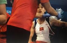 Đinh Phương Thành nén đau hoàn thành phần thi xà kép Olympic Tokyo 2020