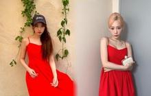 Đụng nhau chan chát với cùng 1 mẫu váy 2 dây nhưng Taeyeon - IU, ai mới cao tay hơn?