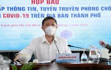 Phó Chủ tịch UBND TP.HCM Dương Anh Đức thông tin về việc tuyển sinh lớp 10