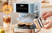 Máy pha cà phê đang sale: Từ 500k sắm được loại tốt, có chiếc 900k pha được 10-12 ly cùng lúc