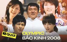 """MV chủ đề Olympic Bắc Kinh 2008 xứng đáng đi vào """"huyền thoại"""", cả dàn celeb đỉnh cao Châu Á đố Gen Z điểm mặt gọi tên"""