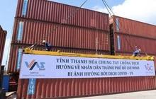 Thanh Hóa: Hơn 1.600 tấn hàng đã lên tàu vào ủng hộ đồng bào phía Nam