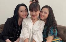 """3 bà mẹ hot nhất Hương Vị Tình Thân chung khung hình: Nhìn cô Bích giúp việc trẻ trung, """"xì tin"""" nào kém cặp Xuân - Sa?"""