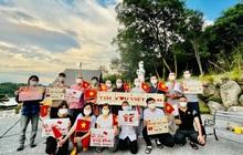 Ấm lòng hình ảnh người dân Việt Nam tại Nhật Bản gửi lời động viên ý nghĩa cho VĐV Việt Nam tham dự Olympic Tokyo 2020