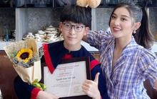 Có em trai đã học giỏi còn như hot boy, Á hậu Huyền My nay vội khoe luôn kết quả thi tốt nghiệp THPT đáng gờm của cậu em?