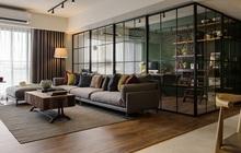 Đập bỏ tường, phòng khách của vợ chồng trẻ rộng đến mức chứa được 20 người, còn có góc làm việc chill hết nấc