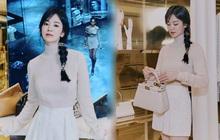 Song Hye Kyo hôm nay trẻ đẹp vô địch, tất cả là nhờ vào combo tóc tết và makeup đạt 100 điểm tròn trĩnh