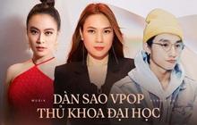Dàn sao Vpop từng đỗ thủ khoa loạt trường Đại học danh tiếng, bất ngờ nhất là điểm thi của nhân vật thứ 4