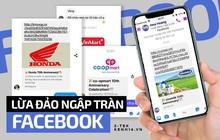 """Mạo danh thương hiệu nổi tiếng để lừa đảo, chiêu trò """"share link trúng thưởng"""" tràn lan trên Facebook khiến hàng loạt người mắc bẫy"""