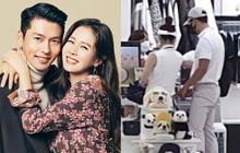 """HOT: Hyun Bin và Son Ye Jin bị """"tóm sống"""" ảnh hẹn hò chơi golf, cùng công khai đi sắm đồ như vợ chồng son"""