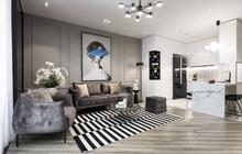 Gái 9X tậu căn hộ 95m2: Chọn toàn tông màu cá tính chất lừ, đồ nội thất tinh xảo nhìn là biết có gu