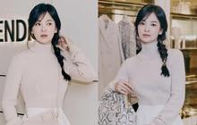 """Song Hye Kyo đích thân """"xả ảnh"""" sự kiện cao cấp: Cận cảnh nhan sắc đẹp nhất xứ Hàn, kéo đến vòng eo con kiến càng choáng hơn"""