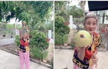 """Trái xoài có hình thù """"dị biệt"""" nhất Việt Nam: Trông từ xa cứ tưởng… quả dừa, lúc nhìn cận còn bất ngờ hơn"""