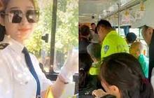 Cô gái dũng cảm lái xe bus vào vùng lũ cứu 100 người gặp nạn, nhan sắc nổi bật càng khiến dân mạng mê mệt hỏi info