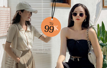 """8 shop thời trang rẻ đẹp hot nhất Shopee: Có cả style """"Hàn xẻng"""" lẫn cool girl, vào xem nhất định chốt vài món"""